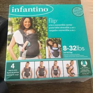NWT Infantino Flip. Convertible Carrier